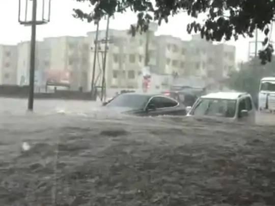 સૌરાષ્ટ્રમાં સીઝનનો 80 ટકા વરસાદ થયો.
